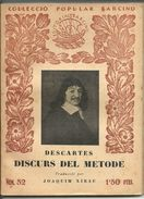 DESCARTES    EDICION 1929   COLLECIO BARCINO - Filosofie & Godsdienst