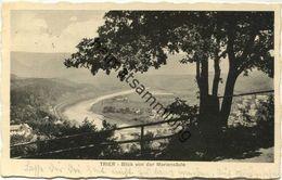 Trier - Blick Von Der Mariensäule Gel. 1936 - Trier
