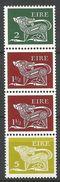 Irlande 1974 300 B ** Chien Stylisé Broche Bande De 4 Timbres 300 A 254 A 254 A 255 A - 1949-... Republic Of Ireland