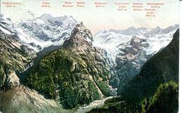 Trafoi - Blick V. Weissen Knott Auf Heilige Drei Brunnen (000804) - Autriche