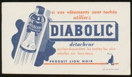 Buvard - DIABOLIC - Detacheur - Buvards, Protège-cahiers Illustrés
