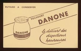 Buvard - DANONE Yoghourt - Buvards, Protège-cahiers Illustrés