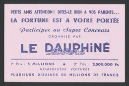 Buvard - Le DAUPHINE Libere - Buvards, Protège-cahiers Illustrés
