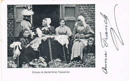 J  Dentellieres Flamandes - Artisanat