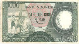 Indonesia - Pick 100 - 10.000 (10000) Rupiah 1964 - F+ - Indonesia