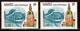 France 3552 Variétés Impression Décalée Vers Le Haut Nantes  Neuf ** TB MNH Sin Charnela - Abarten Und Kuriositäten