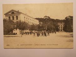 Carte Postale -  St MANDRIER (83) - Hôpital Maritime - La Cour Principale (261/130) - France