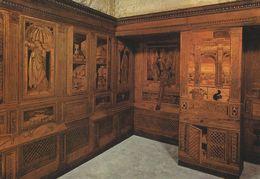 Urbino - Palazzo Ducale. The Duke`s Studiolo    Italy   # 06529 - Urbino