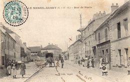 77Vn   95 Le Mesnil Aubry Rue De Paris - France