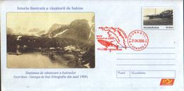 Romania - Stationery Cover 2006 Unused - Illustrated History Of Whale Hunters - Resort For Whale Hunting ,Grytviken - Polar Philately