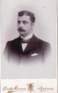LOUVAIN Photo CDV Emile MORREN Un Noble De La Région De Louvain Non Identifié Adel Noblesse - Antiche (ante 1900)