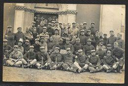 Carte Photo Du 6° Génie (Duvau) - Regiments