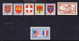 France 1949 France 7v ** Mnh (36375) - Frankrijk