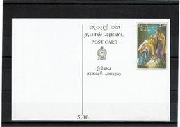 SRI LANKA EP CP ILLUSTREE NEUVE - Sri Lanka (Ceylan) (1948-...)