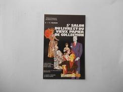 5e SALON DU LIVRE ET DU VIEUX PAPIER DE COLLECTION PORTE DE CHAMPERRET 2-11 FEVRIER 1979  N° 5061 - Bourses & Salons De Collections
