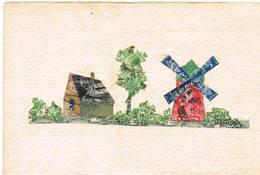 J Landschap Met Zegels - Timbres (représentations)