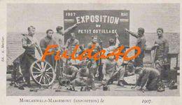 CPA. MOLANWELZ-MARIEMONT.   Exposition Du Petit Outillage.   1907. - Morlanwelz