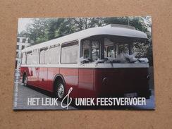 Het Leuk & Uniek FEESTVERVOER ( Www.feestbus.be ) TIELT ( Voir Photo Pour Detail )! - Cartes De Visite