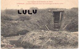 DEPT 54 : édit. E Bastien Libr. : Lunéville Tranchées Allemandes Face Au Moulin A Plâtre - Luneville