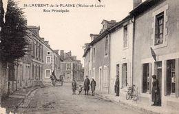77Vn   49 Saint Laurent De La Plaine Rue Principale - Other Municipalities