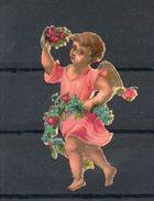 Ange Portant Des Fleurs. H 60mm - Anges