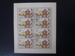 Tschechische Republik Nr. 319 Kleinbogen Gestempelt , Europa 2002 CEPT - Blocs-feuillets