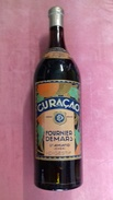 étiquette ET Bouteille CURACAO Alcool D'orange Fabricant FOURNIER DEMARS à SAINT ST AMAND ( Cher ) 18 BERRY - Spirits