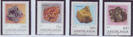 YUGOSLAVIA 1849-1852,unused - Minerals