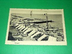 Cartolina Viserba - Spiaggia 1955 - Rimini