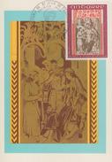 Carte  Maximum  1er  Jour  ANDORRE    Retable  De  Saint  Jean  De  CASELLES     1971 - Maximumkarten (MC)