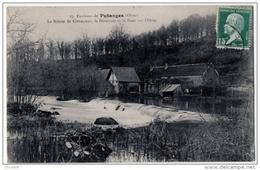 Putanges Crevecoeur Orne Scierie Déversoir 1910 état Superbe - Putanges