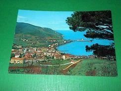 Cartolina Isola D' Elba - Marciana Marina - Panorama 1960 - Livorno