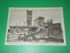 Cartolina Castello Di Montefiore Territorio Di Recanati Nei Pressi Di Montefano - Macerata