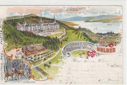 Zürich - Grand Hotel Dolder - Litho - 1899      (P-66-20226) - ZH Zurich