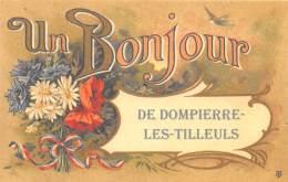 25 - DOUBS / Fantaisie Moderne - CPM - Format 9 X 14 Cm - DOMPIERRE LES TILLEULS - Francia