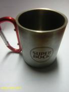(4) - Tass De Bière, L'alunimum, Bière Super Bock - Portugal - Cups