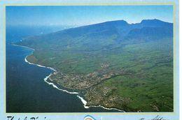La Réunion DOM TOM Ile De La Réunion Saint-Pierre Belle Vue Aérienne De La Ville Au Fond Le Cirque De Cilaos - Saint Pierre