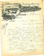 Spiritueux Et Liqueurs, Maison MOUCHOTTE Frères, Distillerie, SAINT-MANDE, 1913 - Facturas