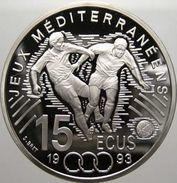 France, 100 Francs / 15 Ecus 1993 - Argent /silver Proof - N. 100 Francs