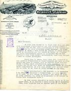 Carrosserie Automobile Et Cycles, Manufacture Des Ets DESHAYES Et COURTOIS, AVESNES Sur HELPE, 1924 - Cars