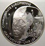 France, 100 Francs / 15 Ecus 1992 - Argent /silver Proof - N. 100 Francs