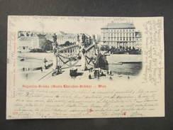 AK WIEN Augartenbrücke 1899  //// D*26124 - Vienna