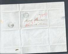 MP LETTRE BANQUE G. EGE &Cie DE 1849 FONTENAY LE COMTE POUR POITIERS Mr BRECHARD BANQUIERS : - 1849-1876: Klassik