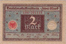 GERMANY 2 MARK REICHSBANKNOTE 1920 AD PICK NO.59 UNCIRCULATED UNC - [ 3] 1918-1933 : República De Weimar