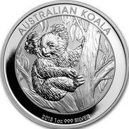 Australie, 1 Dollar 2013 Koala - Argent /silver UNC - Monnaie Décimale (1966-...)