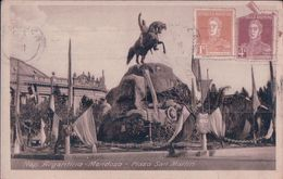 Postal Cp Rep Argentina Mendoza, Plaza San Martin,  - Circulada - - Argentina
