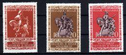 1942 - Belgica - Sc. B 341-342-343 -MNH - BE-115 - Belgien
