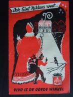 Reclame Folder Dépliant 1956 Winkel Magasin VIVO Sint Niklaas Saint Nicolas Form 15,5 X 24 Cm - Publicités