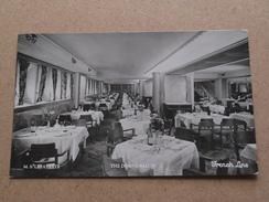 "M.S. "" LAFAYETTE The Dining Salon FRENCH Line () Anno 1933 ( Zie/voir Foto Voor Details ) !! - Steamers"