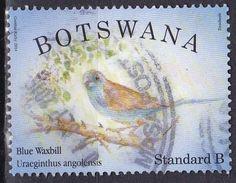 Botswana, 2014 - 5,40p Blue Waxbill - Nr.947 Usato° $1,25 - 2 - Botswana (1966-...)